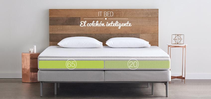 It Bed el Colchón inteligente que te enseñara a dormir mejor